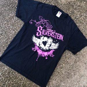 Silverstein band t shirt